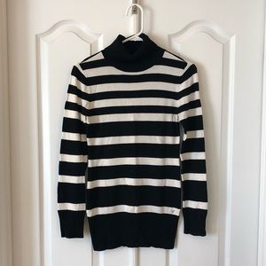 Guess Striped Turtleneck Sweater